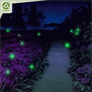 Solar Powered Firefly String Lights for Garden Patio Decoration